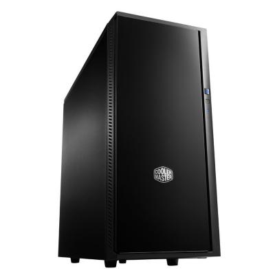 Cooler Master  Silencio 452 Midi Tower – USB3.0 ATX Schwarz (o.NT.) Schallgedämmt | 4719512046234