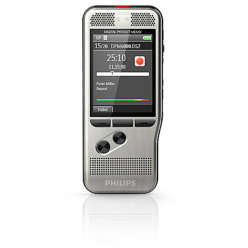 Philips Pocket Memo DPM6000 Digitales Diktiergerät