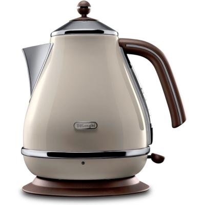 DeLonghi Icona Vintage KBOV2001.BG Wasserkocher Creme-Weiß