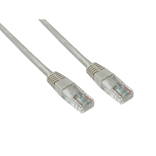 Good Connections Patch Netzwerkkabel Cat. 5e UTP grau 7m