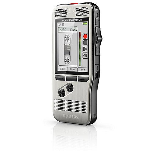 Pocket Memo DPM7000 Digitales Diktiergerät mit 2Mic-Stereoaufnahme | 9120056500192