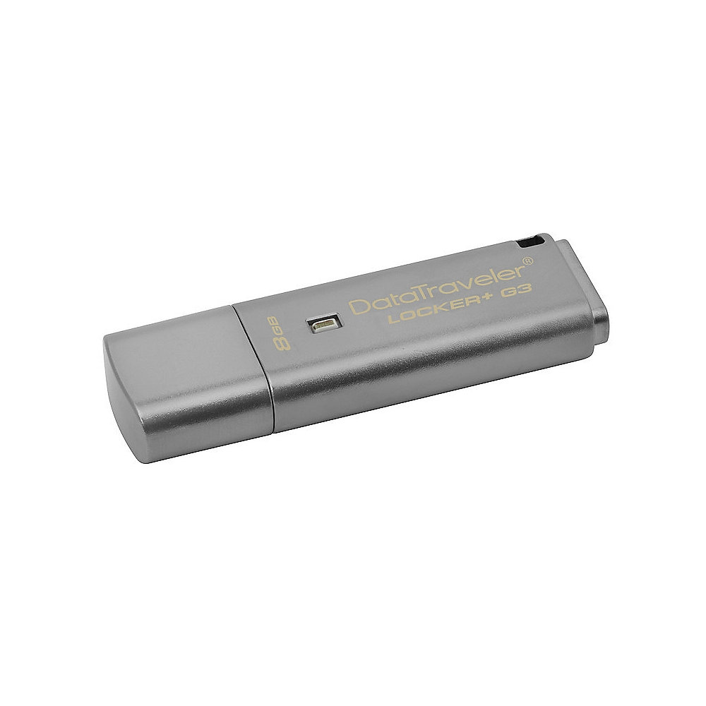 Kingston 8GB DataTraveler Locker+ G3