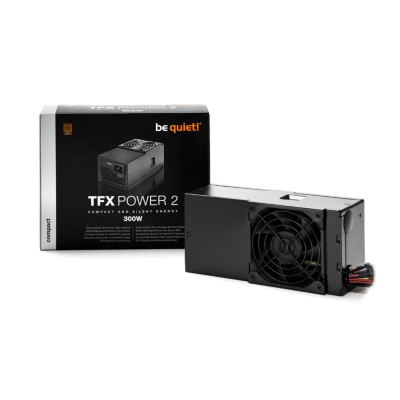 be quiet!  TFX Power 2 300 Watt Netzteil 80+ Bronze | 4260052183731