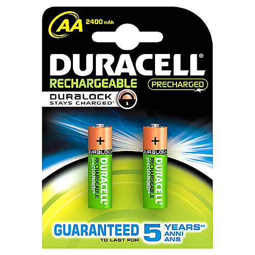 DURACELL StayCharged Akku Mignon AA HR6 2er Blister