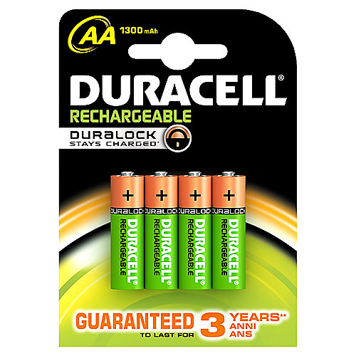 DURACELL StayCharged Akku Mignon AA HR6 4er Blister
