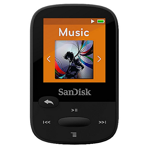 SanDisk Clip Sport MP3 Player 8GB schwarz