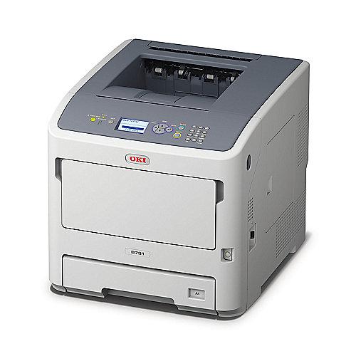 OKI B731dnw S/W-Laserdrucker Duplex WLAN