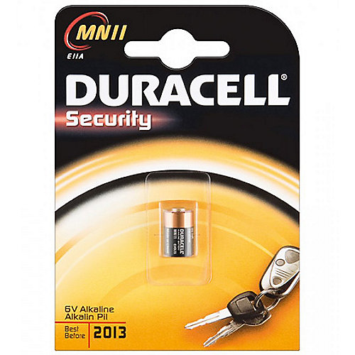 DURACELL MN 11 Security Rund-Batterie Alkaline 6V 1er Blister