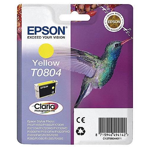 Epson C13T08044010 Druckerpatrone T0804 gelb