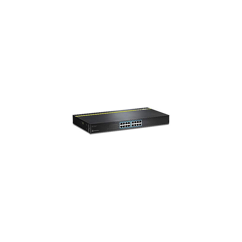 TRENDnet 16-Port 10/100Mbps PoE (125W) Switch