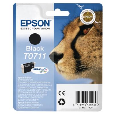 Epson  C13T07114012 Druckerpatrone T0711 schwarz | 8715946622989