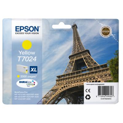 Epson  C13T70244010 Druckerpatrone T702 XL gelb | 8715946499307