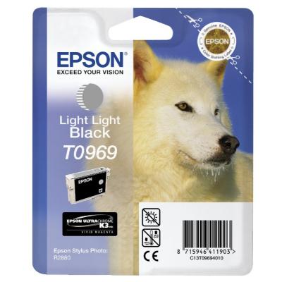 Epson  C13T09694010 Druckerpatrone T0969 helles schwarz | 8715946411903