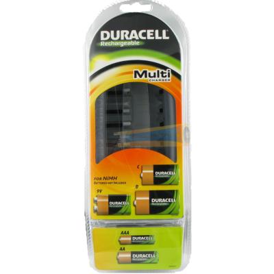 Duracell  CEF22 Multi-Ladegerät für AA, AAA, C, D, 9V | 5000394088313