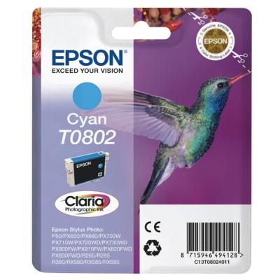 Epson  C13T08024011 Druckerpatrone T0802 cyan | 8715946494128