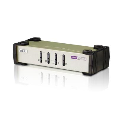 Aten  CS84U KVM Switch 4-fach PS/2 oder USB   4710423777019