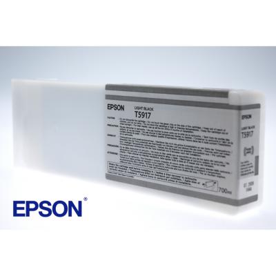 Epson  C13T591700 Druckerpatrone T5917 hell schwarz | 0010343862777
