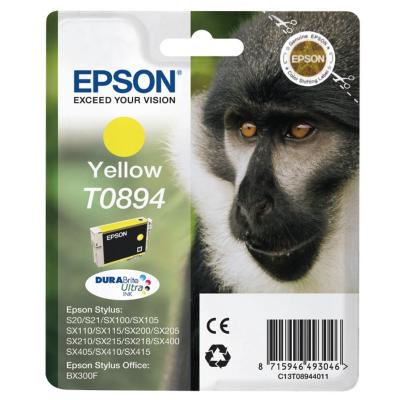 Epson  C13T08944010 Druckerpatrone T0894 gelb | 8715946493046