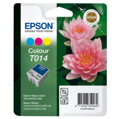 Epson  C13T01440110 Druckerpatrone T014 (cyan, magenta, gelb) Multipack | 8715946359960