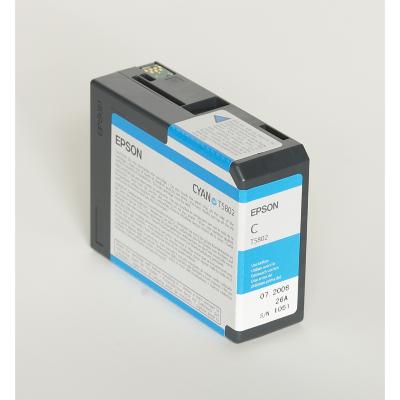 Epson  C13T580200 Druckerpatrone T5802 cyan   0010343858787