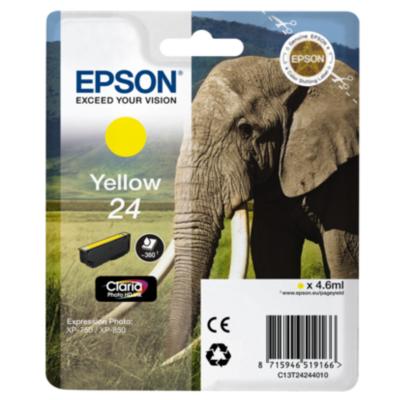 Epson  C13T24244010 Druckerpatrone 24 gelb | 8715946519166