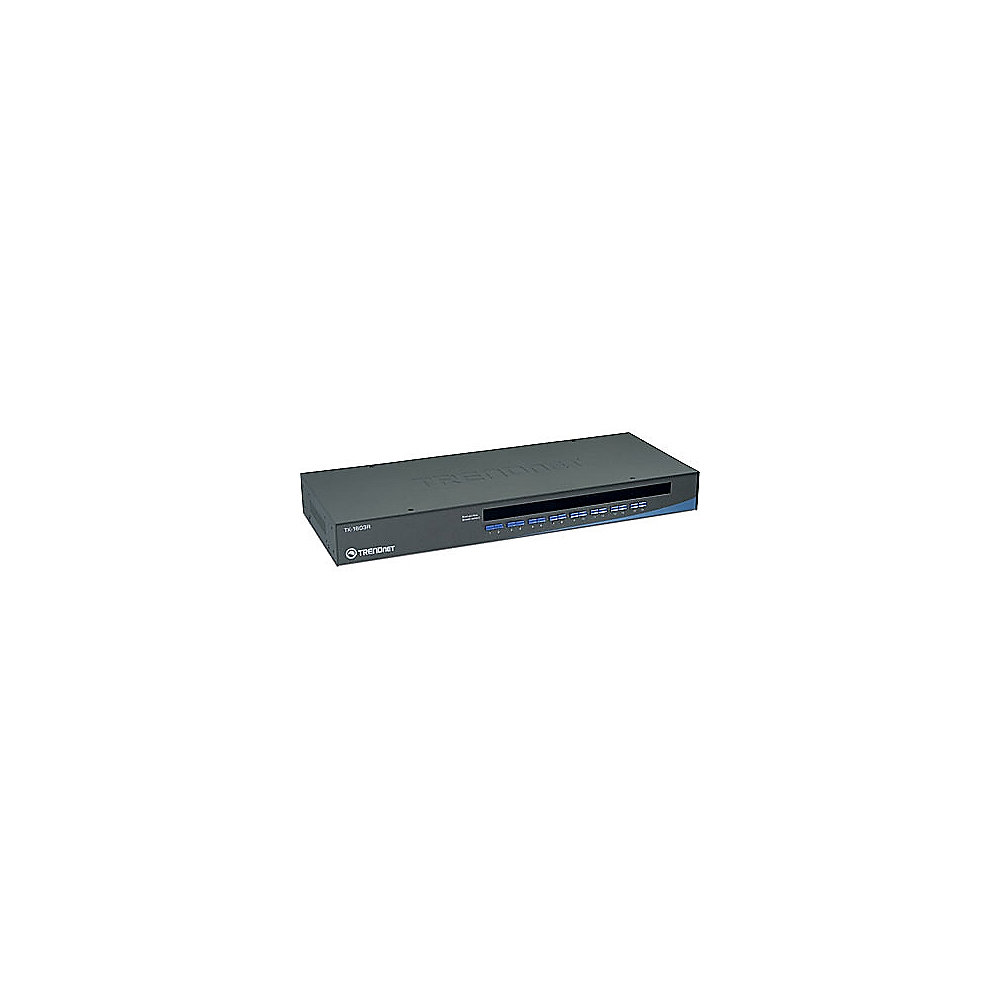 TRENDnet 16-Port USB/PS/2 Rack Mount KVM Switch