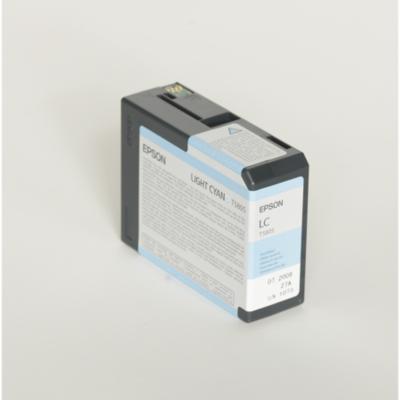 Epson  C13T580500 Druckerpatrone T5805 helles cyan | 0010343858817