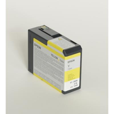 Epson  C13T580400 Druckerpatrone T5804 gelb | 0010343858800