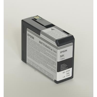 Epson  C13T580800 Druckerpatrone T5808 mattschwarz   0010343858848