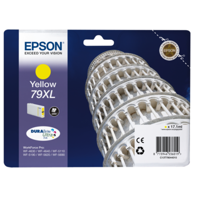Epson  C13T79044010 Druckerpatrone 79XL gelb mit hoher Kapazität   8715946536019