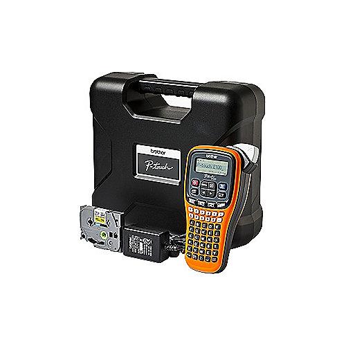 Brother P-touch E100VP Beschriftungsgerät inkl. Koffer und Netzteil   4977766719827