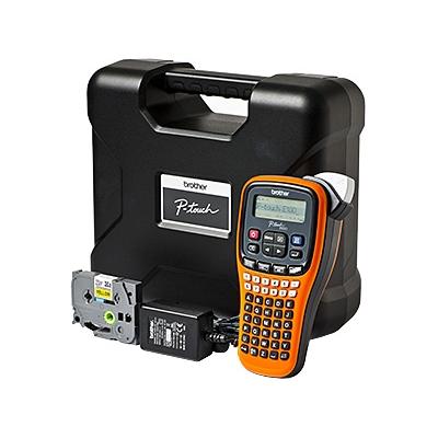 Brother  P-touch E100VP Beschriftungsgerät inkl. Koffer und Netzteil | 4977766719827