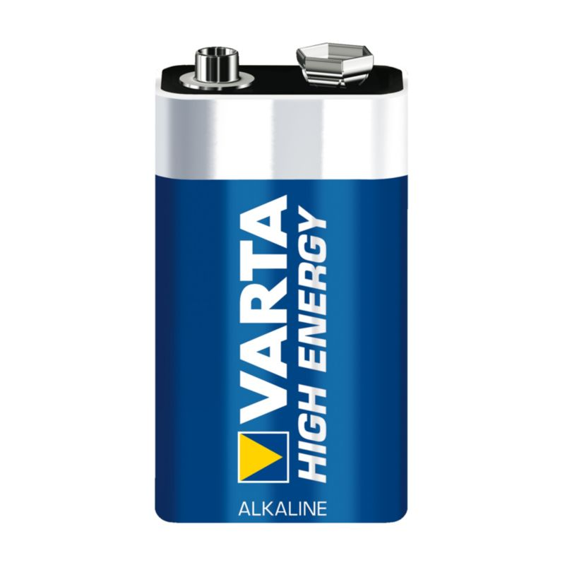 VARTA High Energy Batterie 9V Block 1604D einzeln