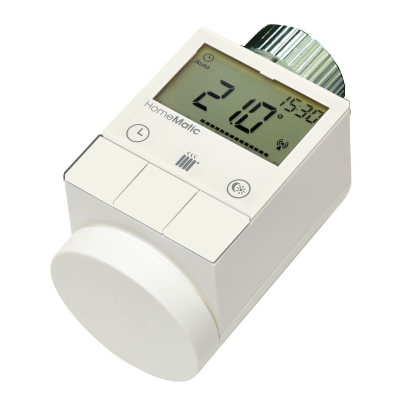 HomeMatic 132030 Funk-Wandthermostat + 105155 Funk-Heizkörperthermostat
