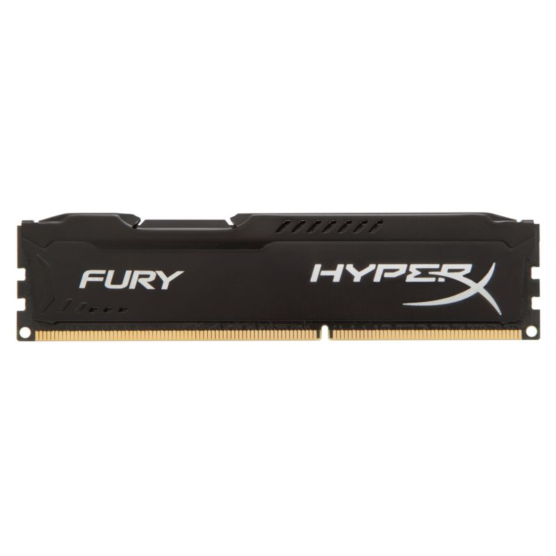 4GB Kingston HyperX Fury schwarz DDR3-1600 CL10 RAM