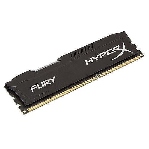 8GB Kingston HyperX Fury schwarz DDR3-1600 CL10 RAM