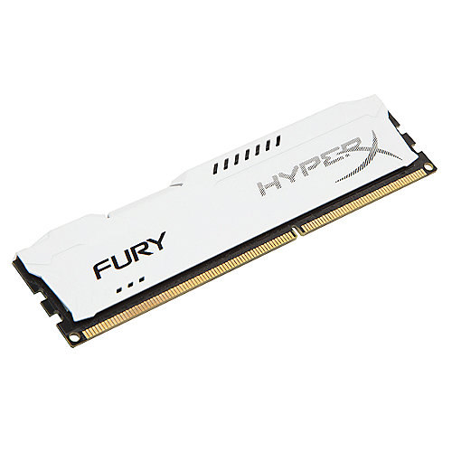 4GB Kingston HyperX Fury weiß DDR3-1600 CL10 RAM