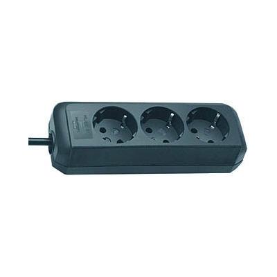 Brennenstuhl  Eco-Line Steckdosenleiste 3-fach 1,5m schwarz | 4007123249367