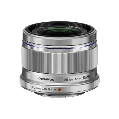 Olympus  M.Zuiko 25mm f/1.8 Weitwinkel Objektiv silber | 4545350045876