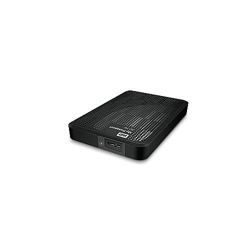 WD My Passport AV-TV USB3.0 500GB 2.5Zoll exter...