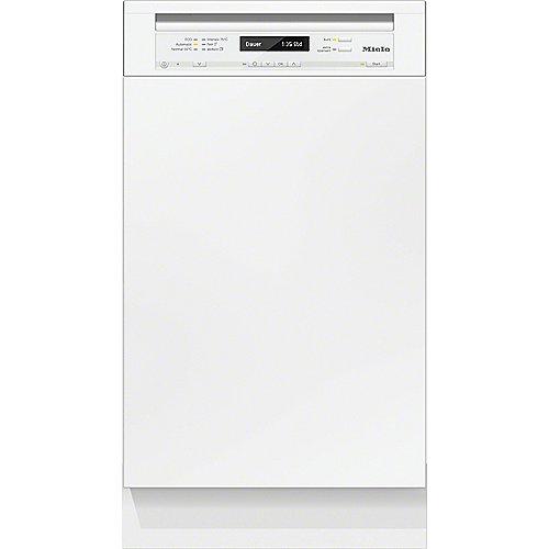 Miele G 4800 SCi Geschirrspüler integrierbar A 45cm Weiß