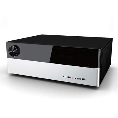 Cooltek  Jonsbo G3 – Desktop HTPC Gehäuse USB3.0 ATX/mATX schwarz/silber(o.NT) | 4250140364951