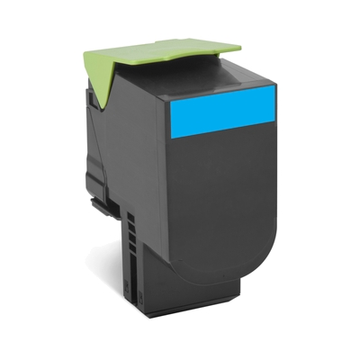 Lexmark  802HC Rückgabe-Toner Cyan für ca. 3.000 Seiten | 0734646477888