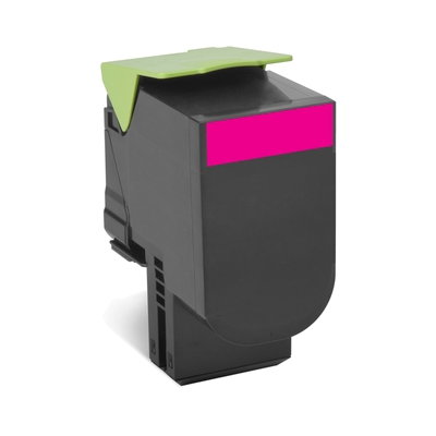 Lexmark  802HM Rückgabe-Toner Magenta für ca. 3.000 Seiten | 0734646477895