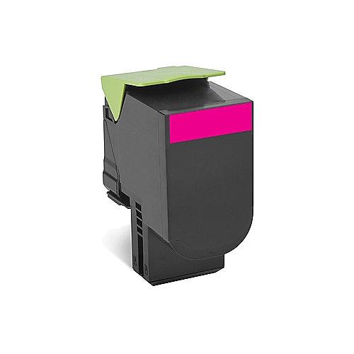 Lexmark 80C2SM0 Rückgabe-Tonerkasette Magenta 2.000 Seiten CX410, CX510 | 0734646481304