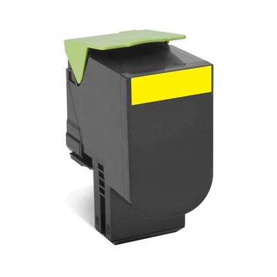 Lexmark  80C2SY0 Rückgabe-Tonerkasette Gelb 2.000 Seiten CX410, CX510 | 0734646481311