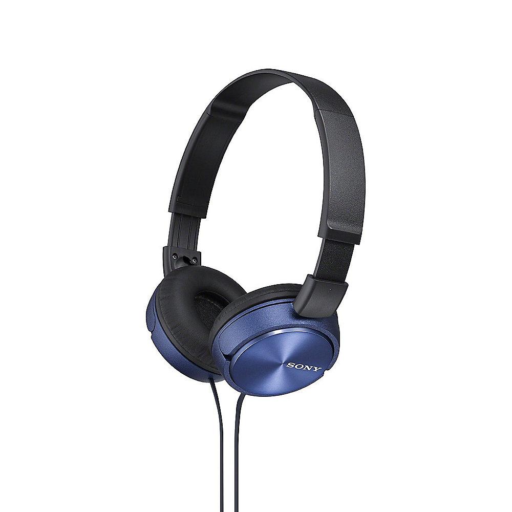 sony mdr zx310l on ear kopfh rer blau cyberport. Black Bedroom Furniture Sets. Home Design Ideas