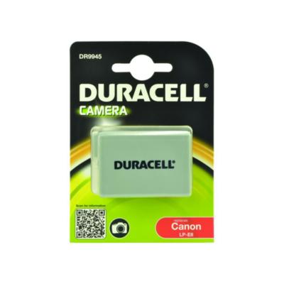Duracell  Li-Ion-Akku für Canon LP-E8 | 5055190115756
