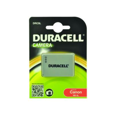 Duracell  Li-Ion-Akku für Canon NB-5L   5055190112830