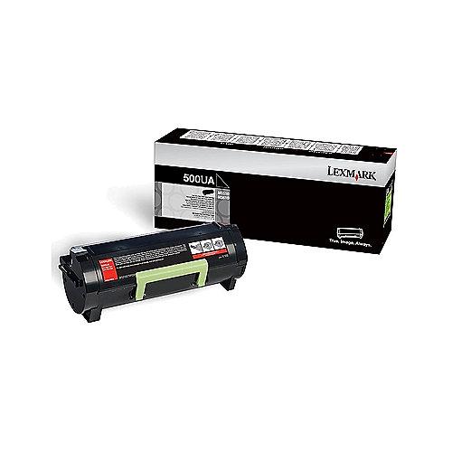 Lexmark 50F0XA0 Toner 500XA schwarz 10.000 Seiten | 0734646433143